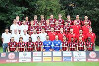 29.07.2014: Mannschaftsfoto Eintracht Frankfurt
