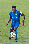 Christian Kwesi of SC Kitchee in action during the Community Cup match between Kitchee and Eastern Long Lions at Mong Kok Stadium on September 23, 2017 in Hong Kong, China. Photo by Marcio Rodrigo Machado / Power Sport Images