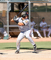 Buster Posey / San Francisco Giants 2008 Instructional League..Photo by:  Bill Mitchell/Four Seam Images