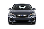 Car photography straight front view of a 2017 Subaru Impreza 2.0i-Limited-CVT-PZEV 4 Door Sedan Front View
