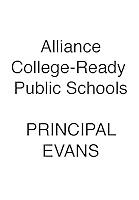 ALLIANCE Evans