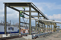 Work Progress June 28 2013 | New Haven Rail Yard New Independent Wheel True Facility