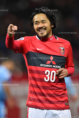 Shinzo Koroki (Reds),<br /> FEBRUARY 24, 2016 - Football / Soccer :<br /> Shinzo Koroki of Urawa Reds celebrates after scoring his team's second goal during the AFC Champions League Group H match between Urawa Red Diamonds 2-0 Sydney FC at Saitama Stadium 2002 in Saitama, Japan. (Photo by AFLO)