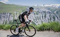 Ian Boswell (USA/SKY)<br /> <br /> stage 7: Aoste &gt; Alpe d'Huez (168km)<br /> 69th Crit&eacute;rium du Dauphin&eacute; 2017