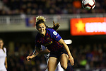 UEFA Women's Champions League 2018/2019.<br /> Quarter Finals.<br /> FC Barcelona vs LSK Kvinner FK: 3-0.<br /> Maria Leon.