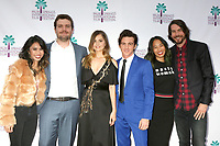 "PALM SPRINGS - JAN 3:  Ashley Argota, Austin Swift, Debby Ryan, Drake Bell, Jenn An, Jonny Mars at the PSIFF ""Cover Versions"" Screening at Camelot Theater on January 3, 2018 in Palm Springs, CA"