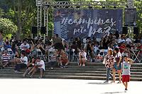 CAMPINAS, SP 01.05.2019 - CAMPINAS PELA PAZ - Autoridades municipais e internacionais participaram da abertura solene da segunda edição do Fórum Campinas pela Paz, que neste ano, tem na música o eixo norteador para o fortalecimento de uma política pública indutora da Cultura de Paz. As atividades do Fórum se estendem até o dia 1º de maio. O evento terá diferentes atrações, com apresentações musicais, debates e gastronomia que ocorrerão na Praça Arautos da Paz e na Casa de Vidro do Lago do Café. (Foto: Denny Cesare/Código19)