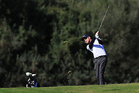 Dale Whitnell (ENG) on the 9th during Round 3 of the Challenge Tour Grand Final 2019 at Club de Golf Alcanada, Port d'Alcúdia, Mallorca, Spain on Saturday 9th November 2019.<br /> Picture:  Thos Caffrey / Golffile<br /> <br /> All photo usage must carry mandatory copyright credit (© Golffile | Thos Caffrey)
