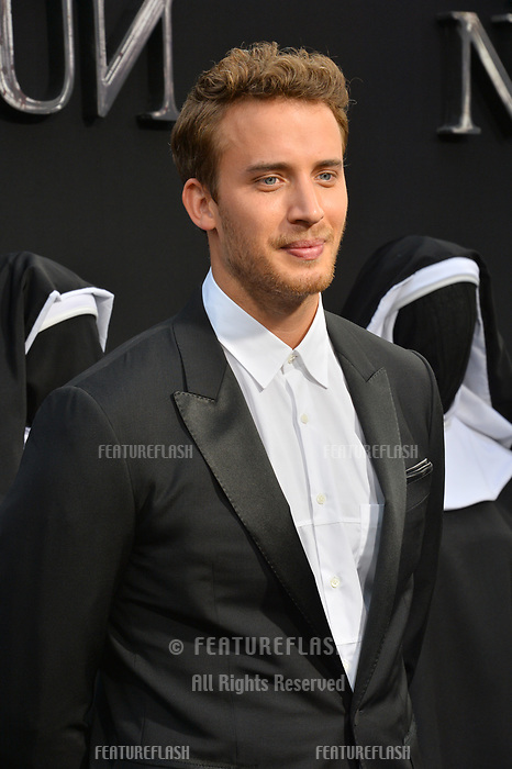 """LOS ANGELES, CA. September 04, 2018: Jonas Bloquet at the world premiere of """"The Nun"""" at the TCL Chinese Theatre, Hollywood."""