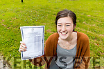 Ciara Holmes, Tralee, Mery Mounthawk Secondary School, Tralee who got 625 points in the Leaving.