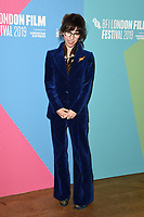 """LONDON, UK. October 08, 2019: Sally Hawkins arriving for the """"Eternal Beauty"""" screening as part of the London Film Festival 2019 at the NFT South Bank, London.<br /> Picture: Steve Vas/Featureflash"""