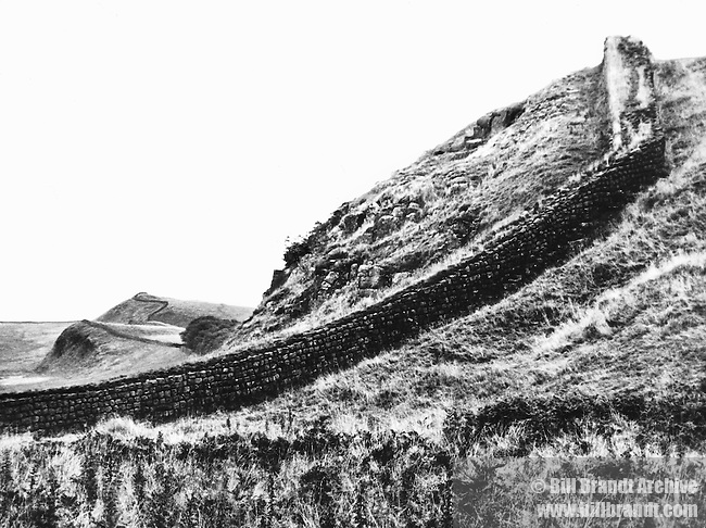 The Roman Wall, Northumberland 1940s