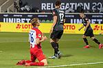 David Otto (FC Heidenheim, #26), aergert sich,<br /> <br /> GER, FC Heidenheim vs. Werder Bremen, Fussball, Bundesliga Religation, 2019/2020, 06.07.2020,<br /> <br /> DFB/DFL regulations prohibit any use of photographs as image sequences and/or quasi-video., <br /> <br /> <br /> Foto: EIBNER/Sascha Walther/Pool/gumzmedia/nordphoto