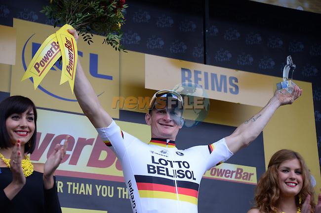 Tour de France 2014 - Etape 6 - Arras / Reims - 10/07/2014 -  Marcel Kittel Vainqueur du Jour