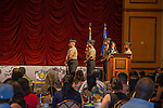 June 23, 2015 - LAS VEGAS -- The Project 150 Youth Council hosted their second annual scholarship awards luncheon at which $30,000 in scholarships is awarded to twenty one college students.  Project 150 Teen Spokesperson NASCAR Racer Kayli Barker, Author, Comedian, and Guitarist Mike Rayburn and representatives from the National Latino Peace Officers Association.<br />       Scholarship sponsors include HomeAid Southern Nevada, Latino Peace Officers Association (NLPOA), and matching scholarships from College of Southern Nevada and Nevada State College