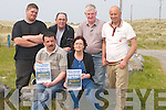 DANCE: Banna residents who will be holding a Fundraising Dance on May19th in the Banna Beach Hotel to help raise costs to fight the proposed caravan site in Banna Mount. Front l-r: Walter Sheehan and Marie O'Donovan. Back l-r: Padraig O'Sullivan, Johnny O'Donovan, Donal Dowling and Mike Shanahan..