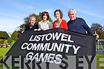 Listowel Community Games Committee are looking for volunteers for the 2014 season. Pictured were: Martin McCarthy (Treasurer),Brenda Pierse (Secretary), Eileen McCarthy (PRO) and Joe O'Connor (Chairman).