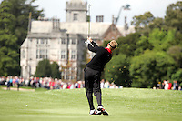 Simon Wakefield takes is 2nd shot on the 9th hole during the third round of the Irish Open on 19th of May 2007 at the Adare Manor Hotel & Golf Resort, Co. Limerick, Ireland. (Photo by Eoin Clarke/NEWSFILE)...