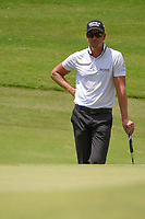 Henrik Stenson (SWE) waits to putt on 8 during round 3 of the WGC FedEx St. Jude Invitational, TPC Southwind, Memphis, Tennessee, USA. 7/27/2019.<br /> Picture Ken Murray / Golffile.ie<br /> <br /> All photo usage must carry mandatory copyright credit (© Golffile | Ken Murray)