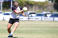 Robert du Preez during the cell c sharks pre season training session at  Growthpoint Kings Park ,22,01,2018 Photo by Steve Haag)