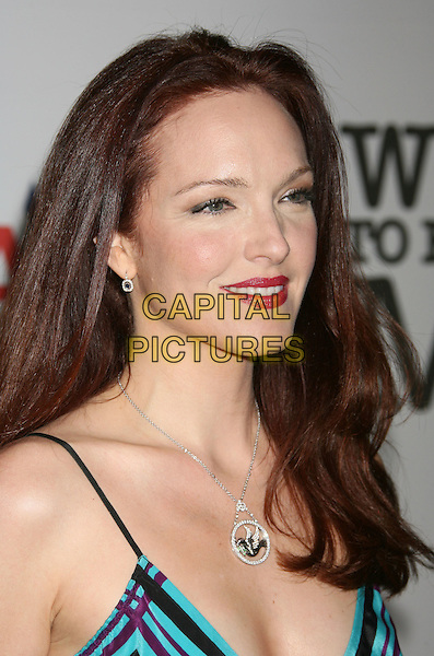 AMY YASBECK.15th Annual Race To Erase MS held at the Hyatt Regency Plaza Hotel, Century City, California, USA..May 2nd, 2008.headshot portrait red lipstick.CAP/ADM/RE.©Russ Elliot/AdMedia/Capital Pictures.