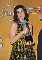 Betsy Brandt at the 20th Annual Screen Actors Guild Awards at the Shrine Auditorium.<br /> January 18, 2014  Los Angeles, CA<br /> Picture: Paul Smith / Featureflash