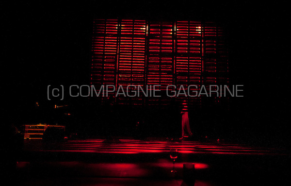 "Theatre company Theater Milla playing ""Reynaert"", directed by Eva Soenens in the serie Amateurtoneelhuis in Antwerp (Belgium, 15/04/2014)"