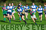 Tralee's Laoise O'Driscoll on a forward run against Richmond in the  Women's Munster League Division 1 game in O'Dowd Park, Tralee on Sunday.