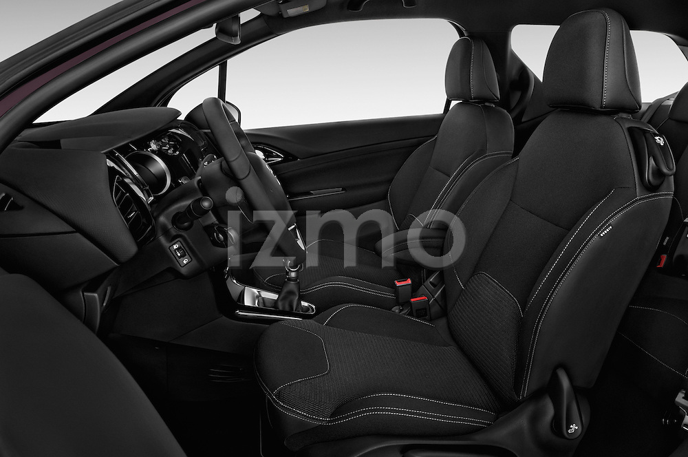 Front seat view of 2016 Ds DS3 So-Chic 3 Door hatchback Front Seat  car photos
