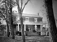 McLean's House, Appomattox Court-House.  Virginia, April 1865. Timothy O'Sullivan. (War Dept.)<br /> Exact Date Shot Unknown<br /> NARA FILE #: 165-SB-99<br /> WAR &amp; CONFLICT BOOK #:  259