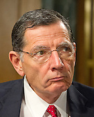 United States Senator John Barrasso (Republican of Wyoming), a member of the US Senate Committee on Foreign Relations, at the hearing considering the nomination of Rex Wayne Tillerson, former chairman and chief executive officer of ExxonMobil to be Secretary of State of the US on Capitol Hill in Washington, DC on Wednesday, January 11, 2017.<br /> Credit: Ron Sachs / CNP