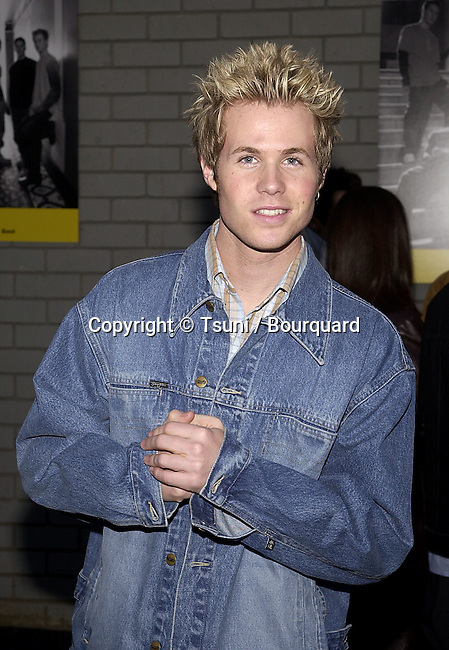 "Ashley Parker Angel - O-Town - arriving at the party for the 2nd season premiere of "" The Making the Band "" at the POOL on Sunset Blvd in Los Angeles  4/13/2001  © Tsuni          -            O'Town_AshleyParkerAngel16.jpg"