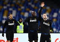 6th January 2020; Stadio San Paolo, Naples, Campania, Italy; Serie A Football, Napoli versus Inter Milan; Milan Skriniar of Inter - Editorial Use