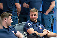 Picture by Allan McKenzie/SWpix.com - 24/04/2018 - Rugby League - RFL EPS Headshots - Village Hotels, Bury, England - England EPS and Knights players relax at camp, Mike McMeeken.