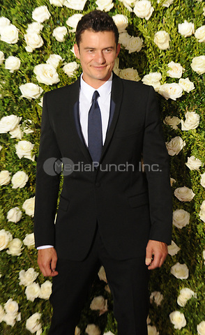 NEW YORK, NY - June 11: Orlando Bloom attends the 71st Annual Tony Awards at Radio City Music Hall on June 11, 2017 in New York City.@John Palmer / Media Punch