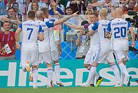 Argentina vs Iceland, June 16, 2018