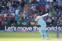 Jason Roy (England) chips the ball into the on side for a boundary during England vs Bangladesh, ICC World Cup Cricket at Sophia Gardens Cardiff on 8th June 2019