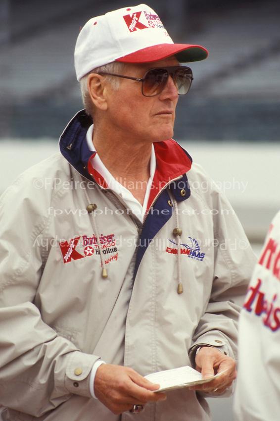Team owner Paul Newman.