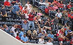 Ole Miss baseball vs. UNCW at Oxford-University Stadium in Oxford, Miss., Friday, Feb. 24, 2017. Photo by Thomas Graning/Ole Miss Communications