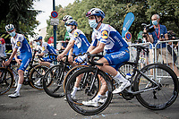 at the race start in Clermont-Ferrand<br /> <br /> Stage 1: Clermont-Ferrand to Saint-Christo-en-Jarez (218km)<br /> 72st Critérium du Dauphiné 2020 (2.UWT)<br /> <br /> ©kramon