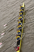 Chiswick, London. ENGLAND,11.03.2006, German/Swedish composite crew Malmoe/Regatta VB Team NW, pass under,  Chiswick Bridge, during the 2006 Women's Head of the River Race,  Mortlake to Putney  on Saturday 11th March    © Peter Spurrier/Intersport-images.com.. 2006 Women's Head of the River Race. Rowing Course: River Thames, Championship course, Putney to Mortlake 4.25 Miles