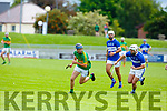 Shane Conway in action for Lixnaw against St Brendans  Daniel Finegan in the Qtr final of the Senior Hurling Championship in Austin Stack Park on Sunday.