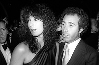 1978 FILE PHOTO<br /> New York City<br /> Steve Rubell Cher David Geffen at Studio 54<br /> Photo by Adam Scull-PHOTOlink.net