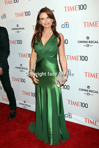 Roma Downey attending the 10th annual TIME 100 Gala at Frederick P. Rose Hall, home of Jazz at Lincoln Center in New York, 23.04.2013. .Credit: Rolf Mueller/face to face