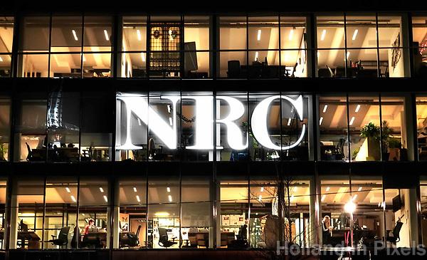 Nederland - Amsterdam - Januari 2019.  NRC aan het Rokin.  Foto Berlinda van Dam / Hollandse Hoogte
