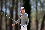BROWNS SUMMIT, NC - APRIL 01: Alabama's Cheyenne Knight tees off on the 2nd hole. The second round of the Bryan National Collegiate Women's Golf Tournament was held on April 1, 2017, at the Bryan Park Champions Course in Browns Summit, NC.