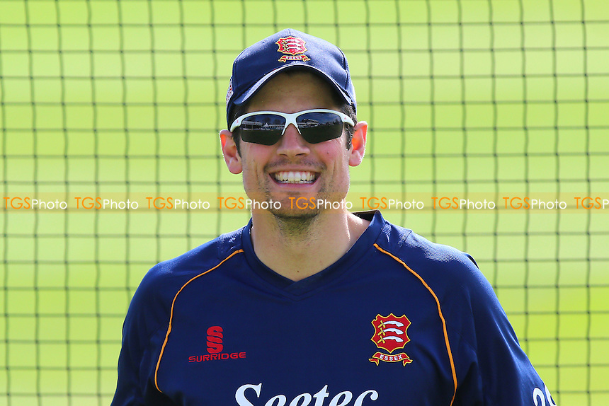 Alastair Cook of Essex smiles ahead of Essex CCC vs Gloucestershire CCC, Specsavers County Championship Division 2 Cricket at the Essex County Ground on 13th April 2016