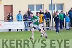 in Action Na Gaeil's Diarmuid Herlihy get away from  Beaufort's Ronan Murphy  Senior Football League Div 3 Na Gaeil v Beaufort at Killeen Na Gaeil GAA Ground on Saturday