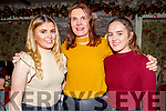 Aisling, Ciara and Jemma Kearney from Castleisland enjoying Little Women's Christmas in Cassidys on Sunday.
