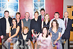Louise O'Leary, Ann Marie Cronin, Colleen Coffey, Sinead McCarthy. Back row: Mark Nagle, Patricia Fleming, Anthony Palmer, Padraig Coffey, Sheila Palmer, Margaret Coffey, Bernie Casey and Peter Fleming staff from Dr McCullagh, medical centre, Killarney having fun at their Christmas party in the Malton Hotel, Killarney on Friday night   Copyright Kerry's Eye 2008